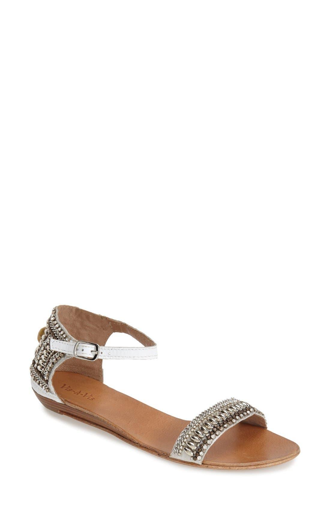 Alternate Image 1 Selected - Vis-à-Vis 'Honi' Embellished Sandal (Women)