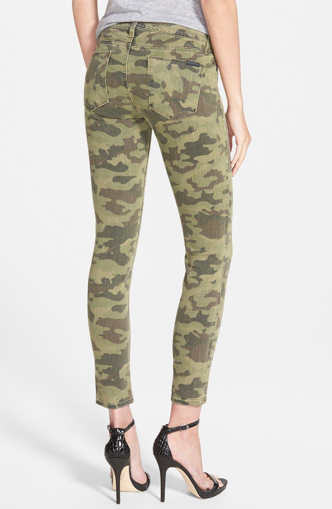 Alternate Image 2  - Hudson Jeans 'Krista' Crop Jeans (Solimar Camo)