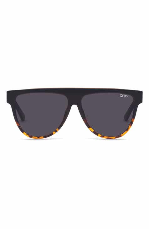 Quay Australia Last Night 57mm Flat Top Sunglasses