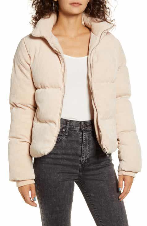 Vigoss Corduroy Puffer Jacket
