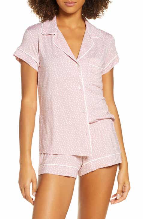 Eberjey Sleep Chic Short Pajamas