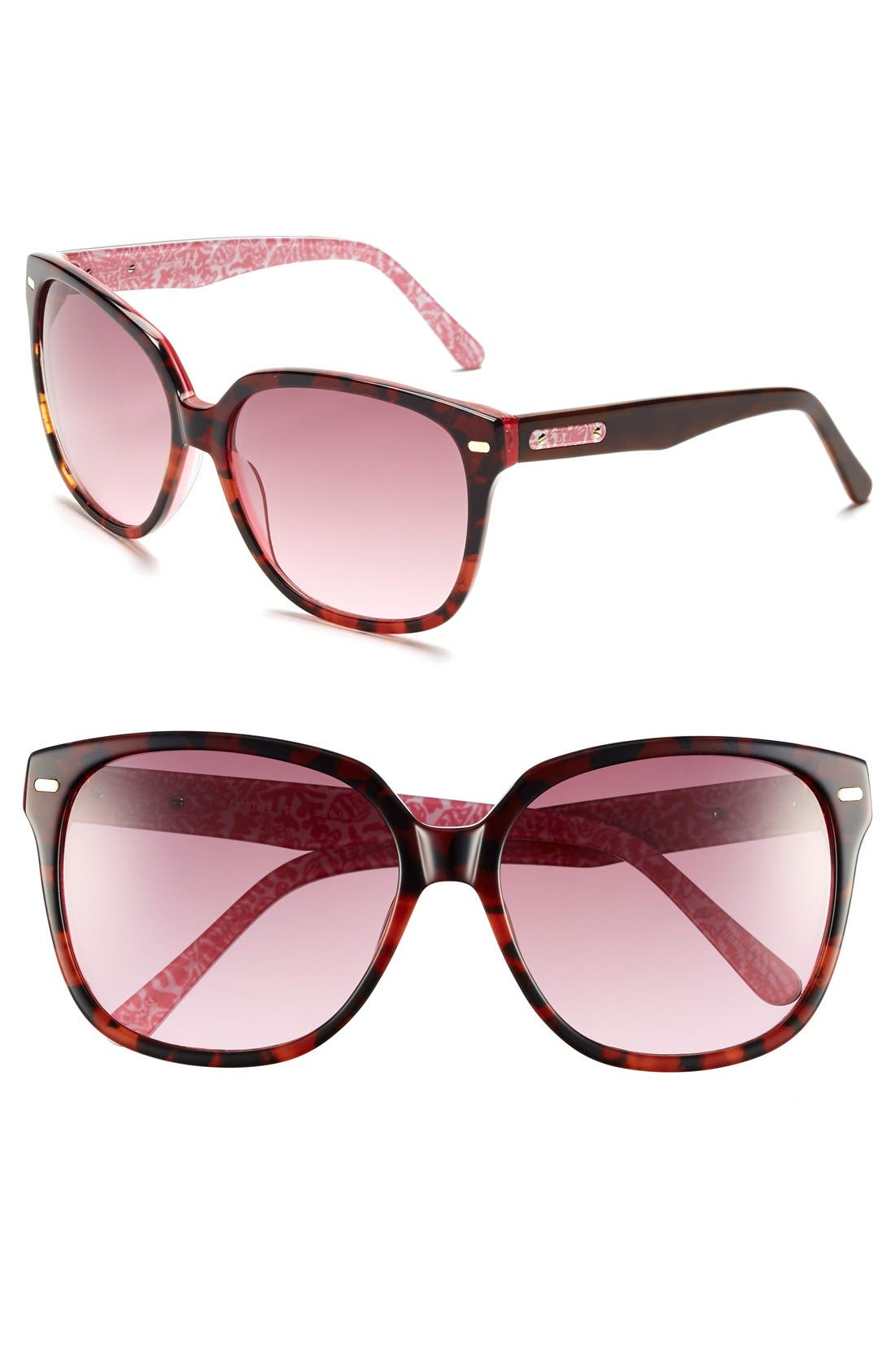 LILLY PULITZER<SUP>®</SUP> Courtney 58mm Sunglasses