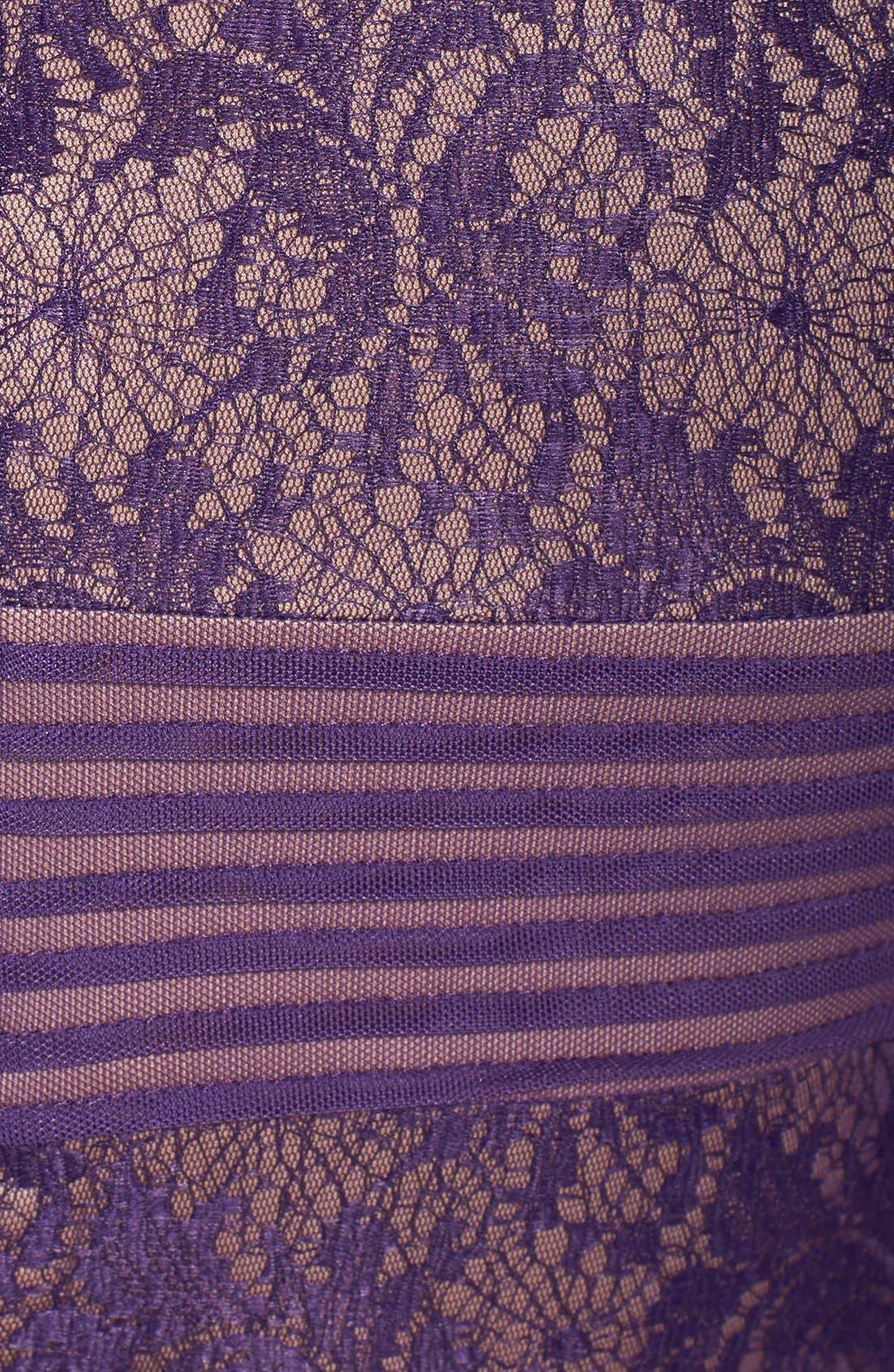 Alternate Image 4  - Tadashi Shoji Mixed Media Sheath Dress (Regular & Petite)
