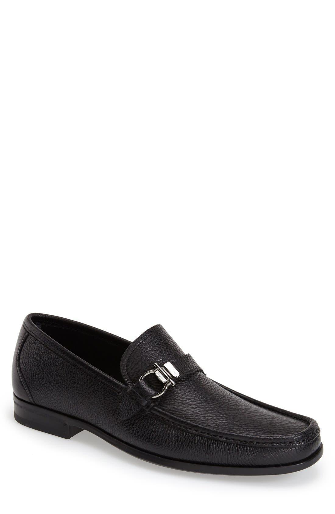 Salvatore FerragamoMuller Bit Leather Loafers iPwfAKvD