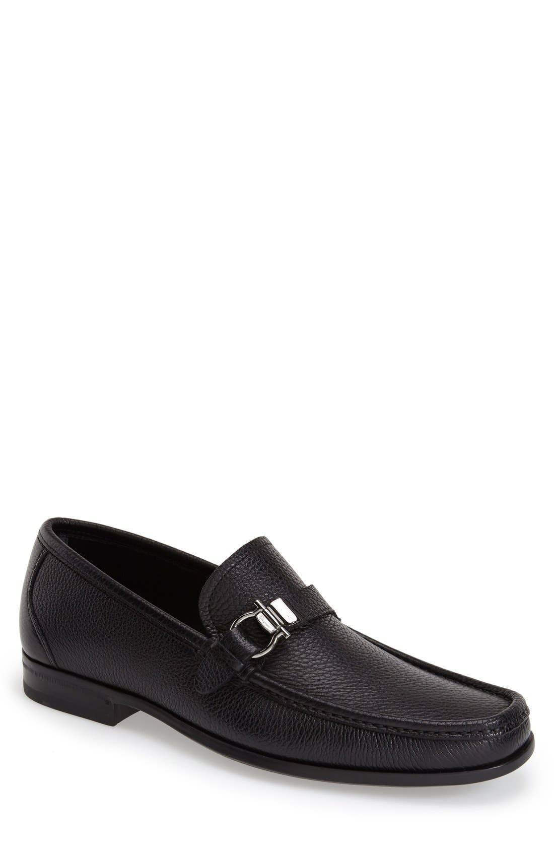 Salvatore Ferragamo Muller Bit Loafer (Men)