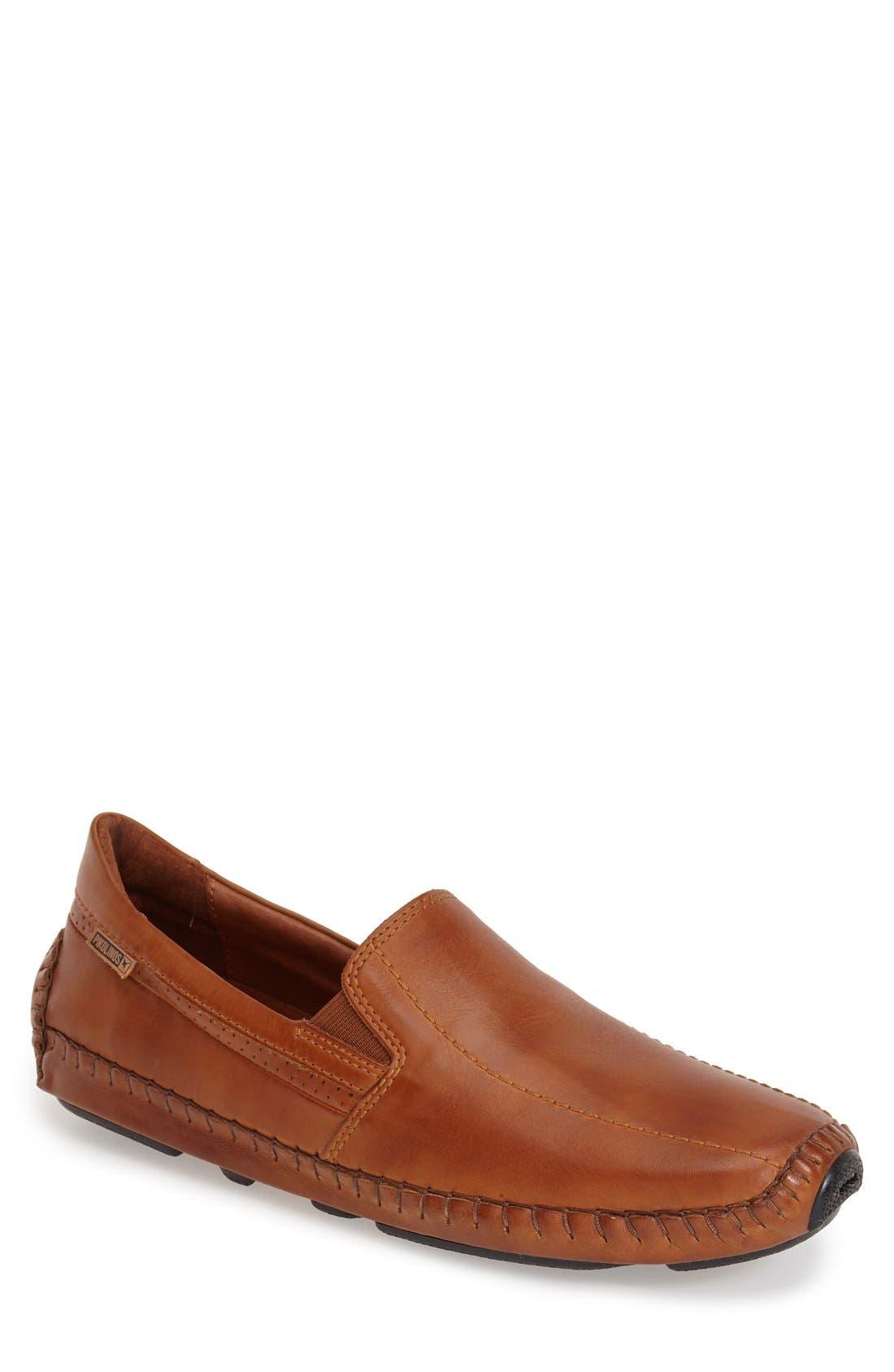 'Jerez' Driving Shoe,                         Main,                         color, Brandy