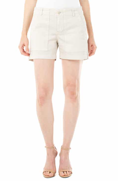 Liverpool Utility Cotton Blend Shorts