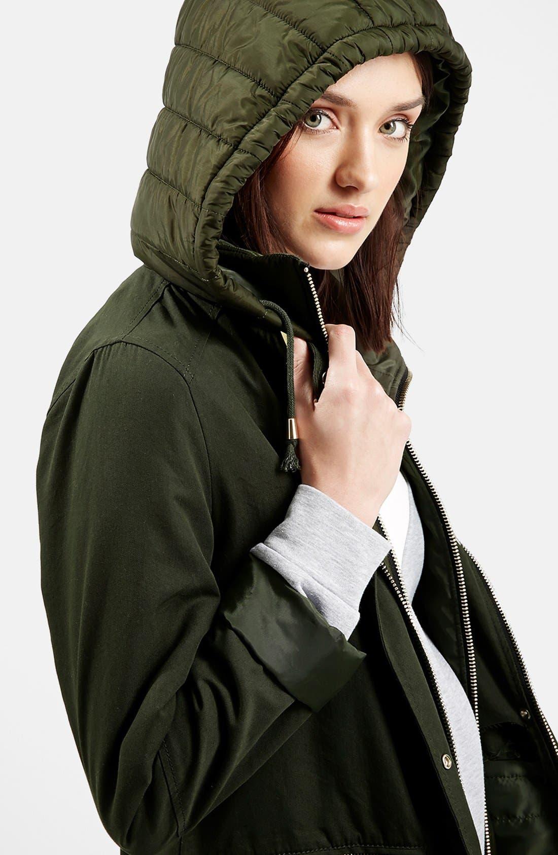 Alternate Image 4  - Topshop 'Kiora' Jacket