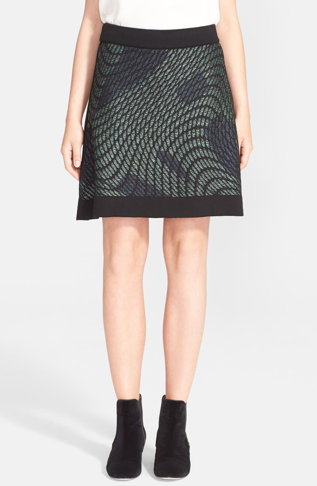 Alternate Image 1 Selected - M Missoni Graphic Knit Skirt