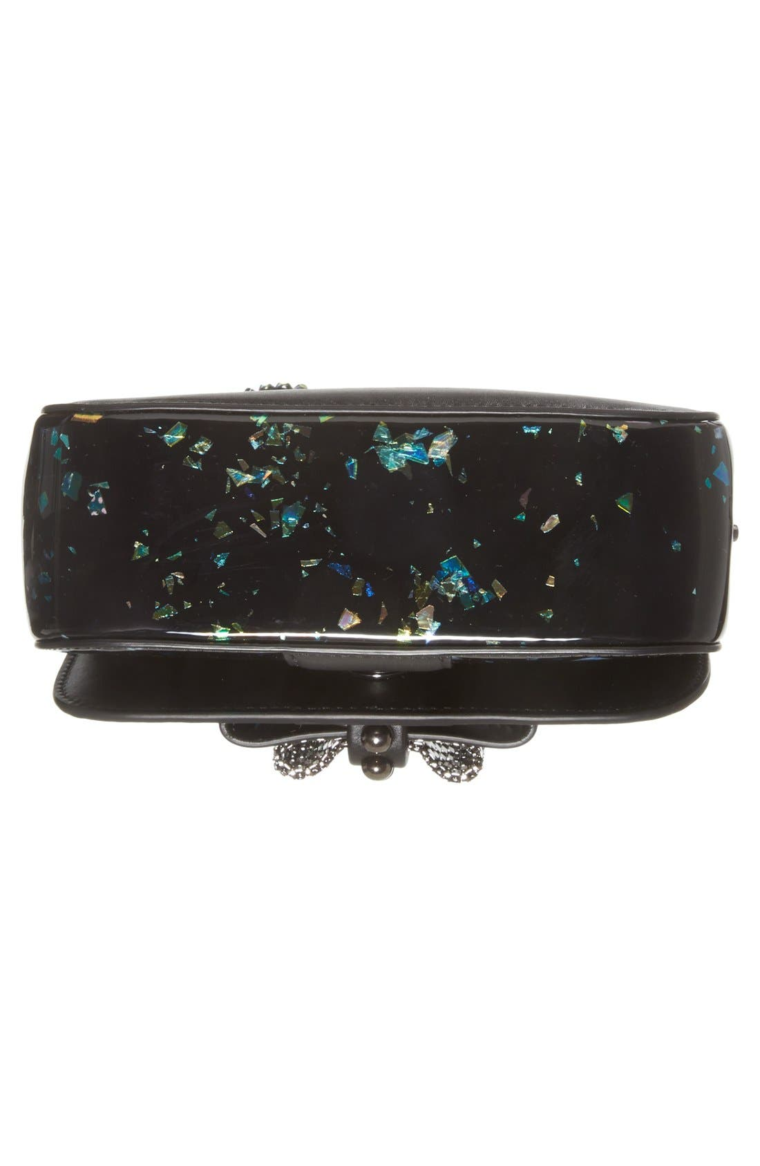 Alternate Image 6  - Christian Louboutin 'Sweety Charity' Patent Leather Shoulder Bag