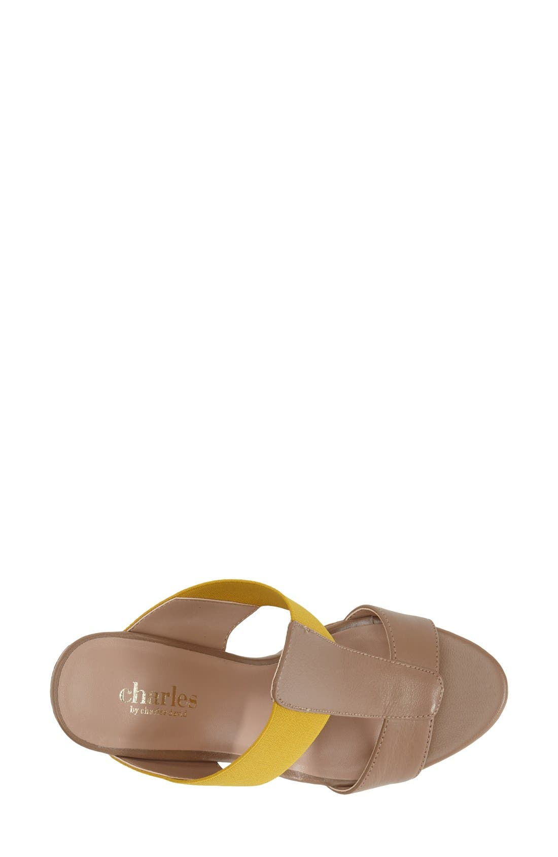 Alternate Image 3  - Charles by Charles David 'Alto' Espadrille Wedge Sandal (Women)