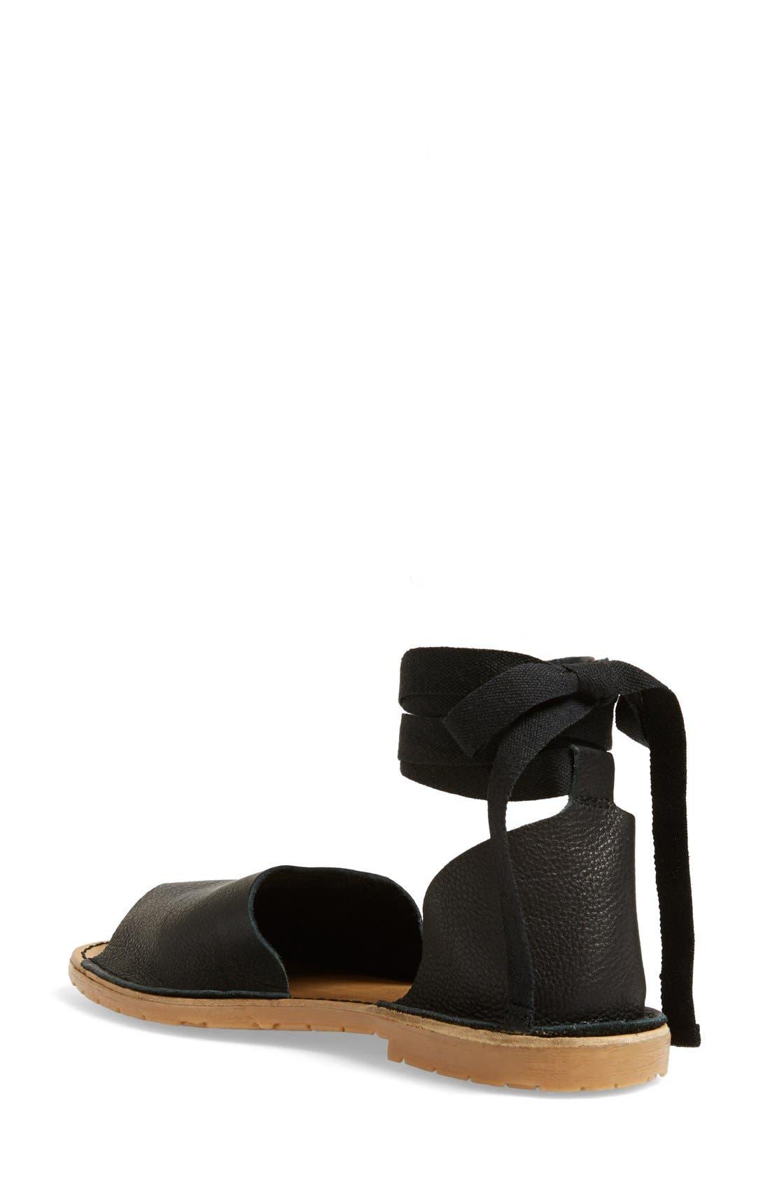 Alternate Image 2  - Topshop 'Feline' Wraparound Ankle Strap Sandal (Women)