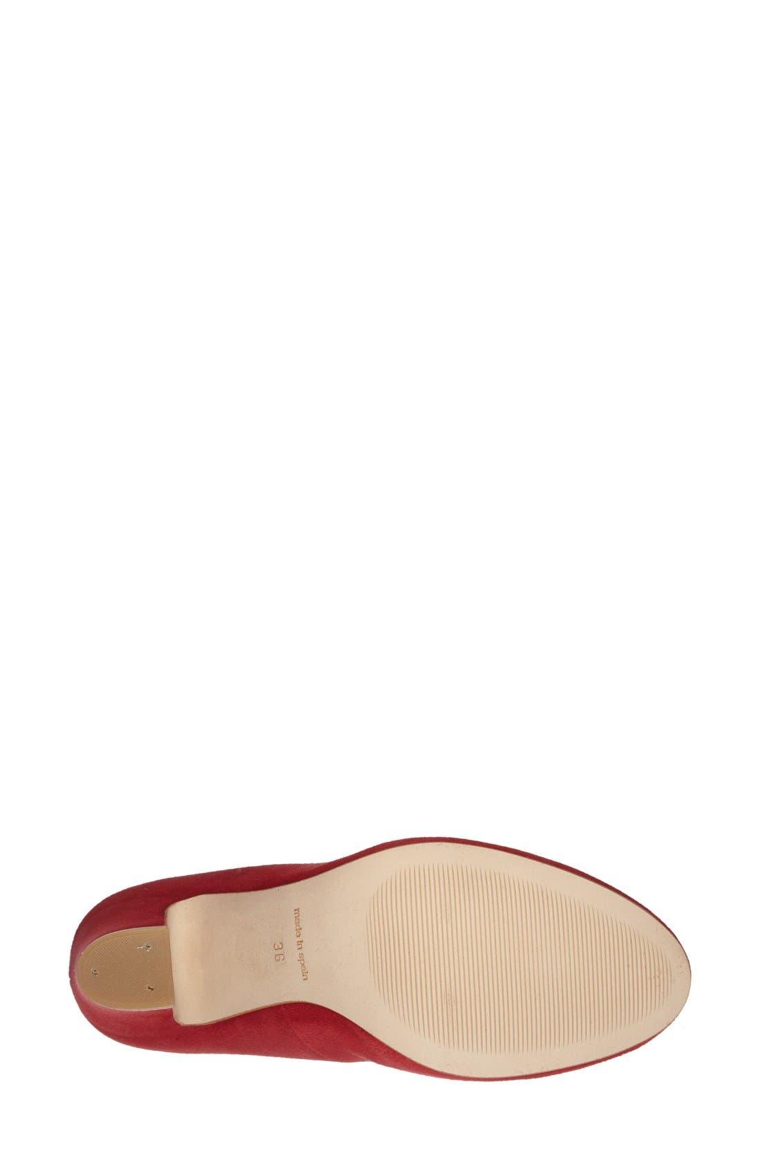 Alternate Image 4  - Dune London 'Aubree' Block Heel Pump (Women)