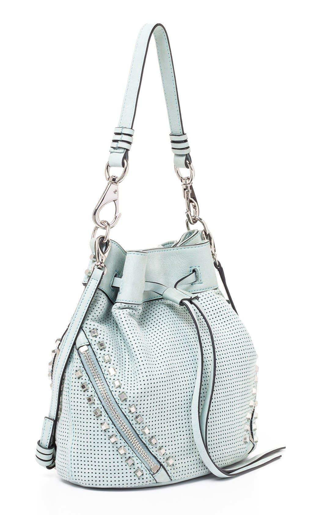 Alternate Image 3  - She + Lo 'Make Your Mark' Leather Bucket Bag