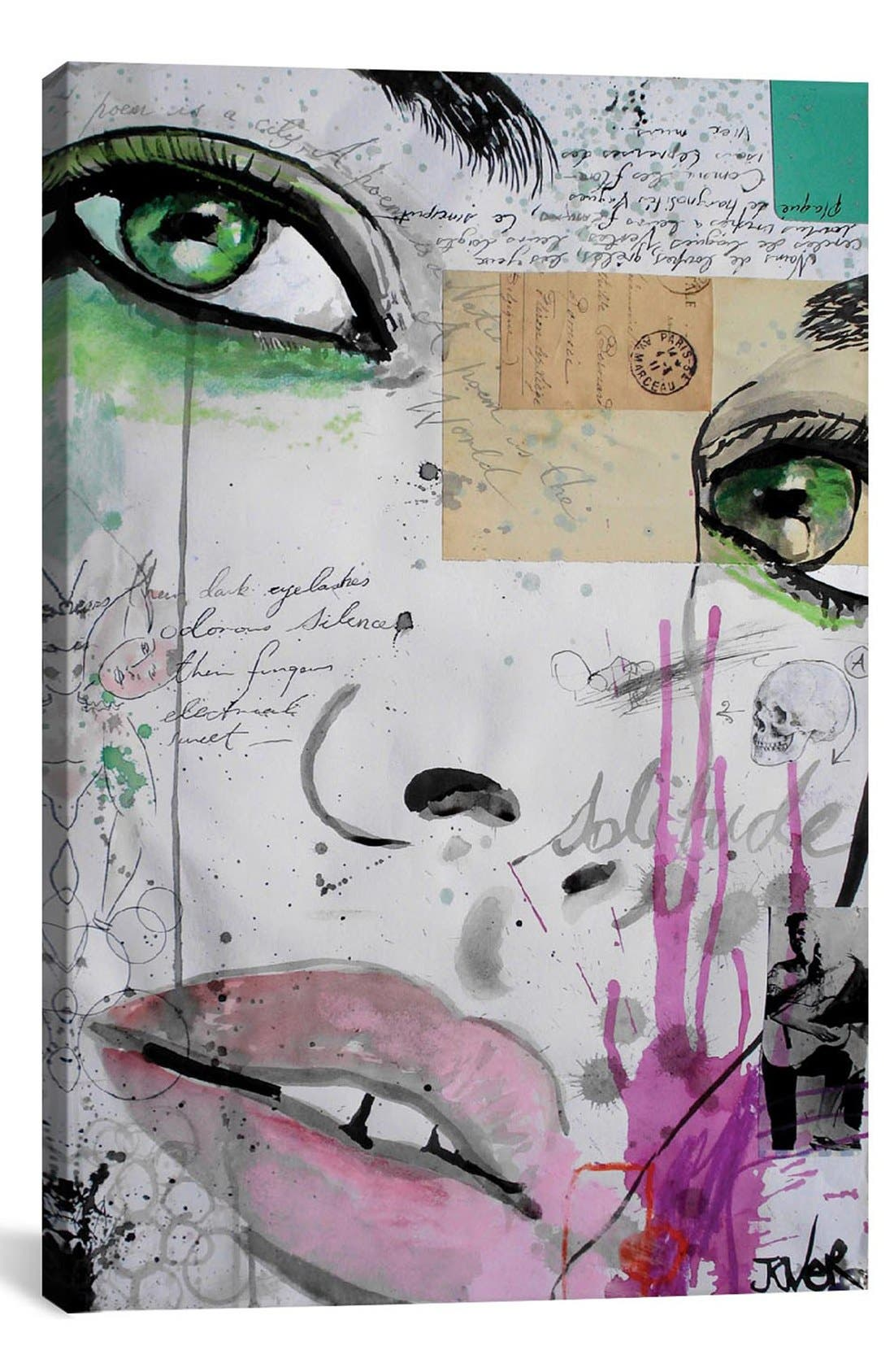 'The Rhythm of Dreams' Giclée Print Canvas Art,                             Main thumbnail 1, color,                             Green