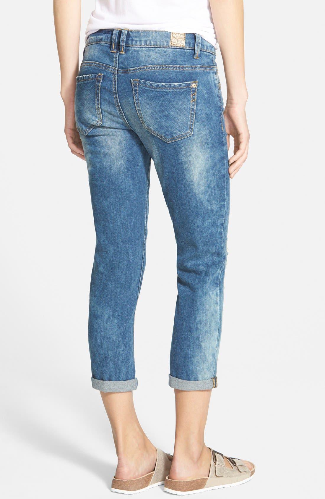 Alternate Image 2  - Jolt 'Girlfriend' Relaxed Jeans