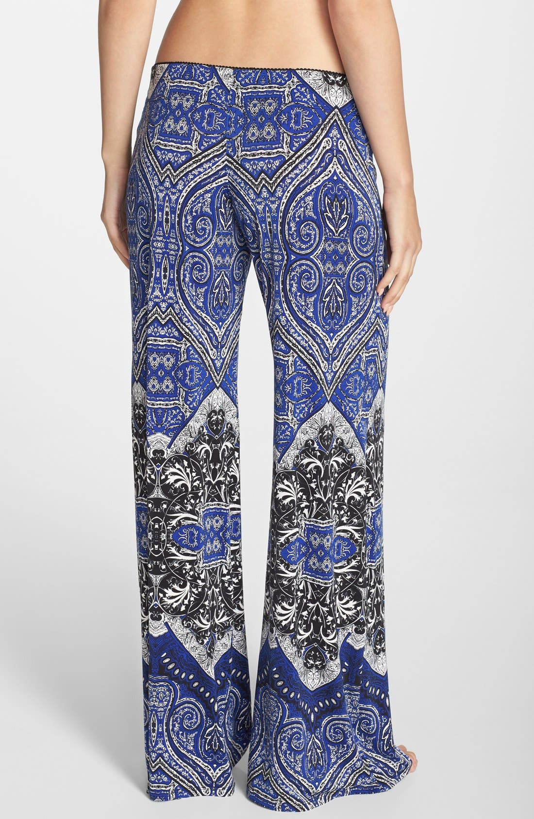 Alternate Image 2  - In Bloom by Jonquil Tapestry Print Lounge Pants