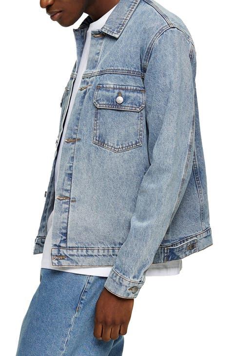 Topman Type 2 Organic Cotton Denim Jacket