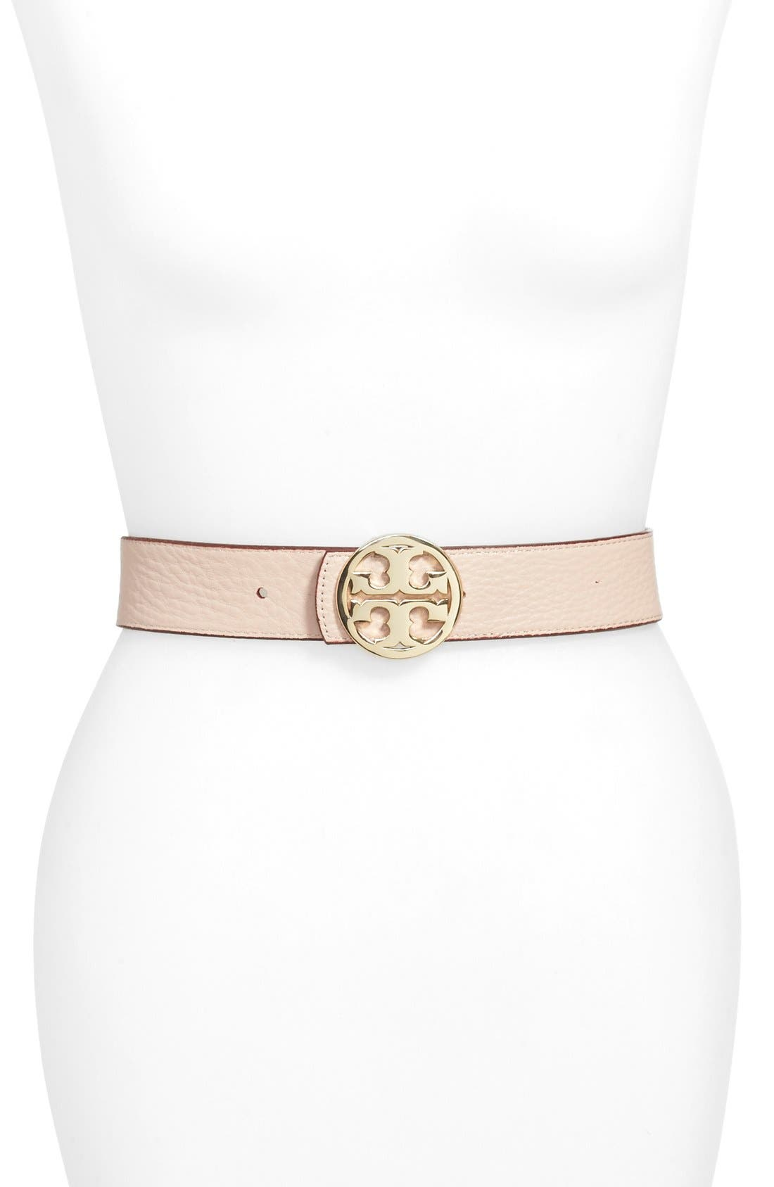 Alternate Image 2  - Tory Burch 'Logo' Reversible Leather Belt
