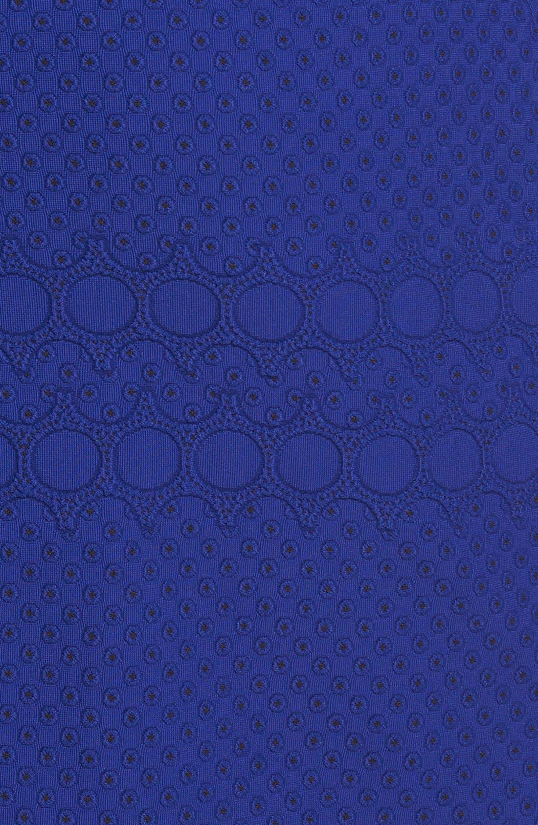 Alternate Image 4  - Julia Jordan Eyelet Sheath Dress (Online Only)