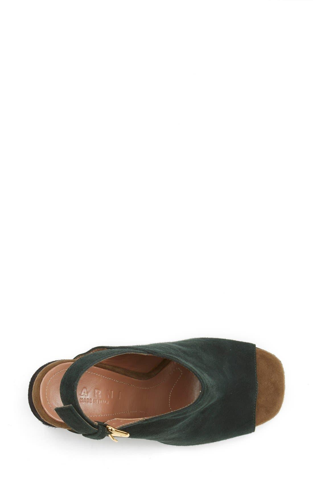 Alternate Image 3  - Marni Slingback Wedge Sandal (Women)