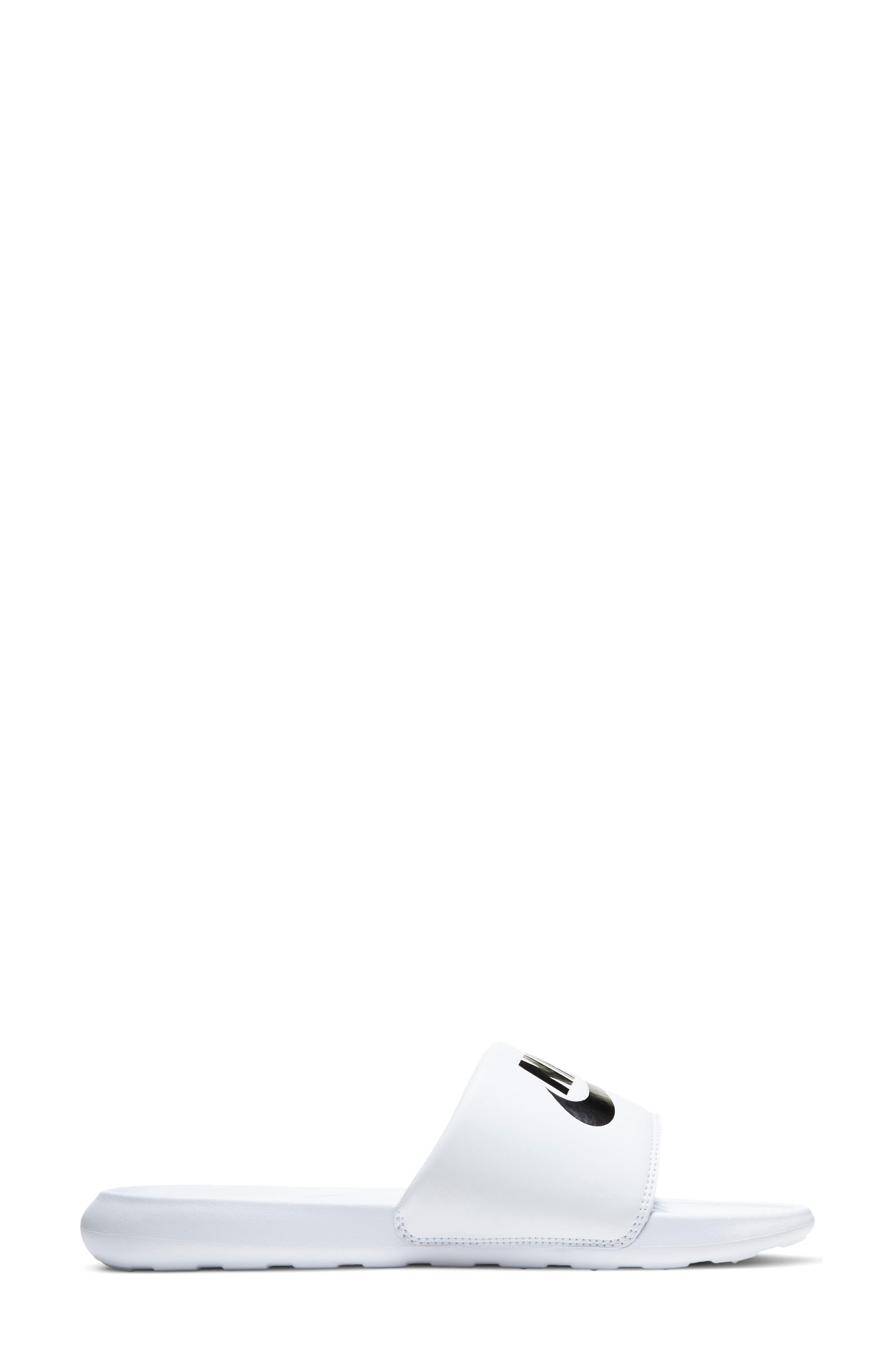 mens white slide sandals