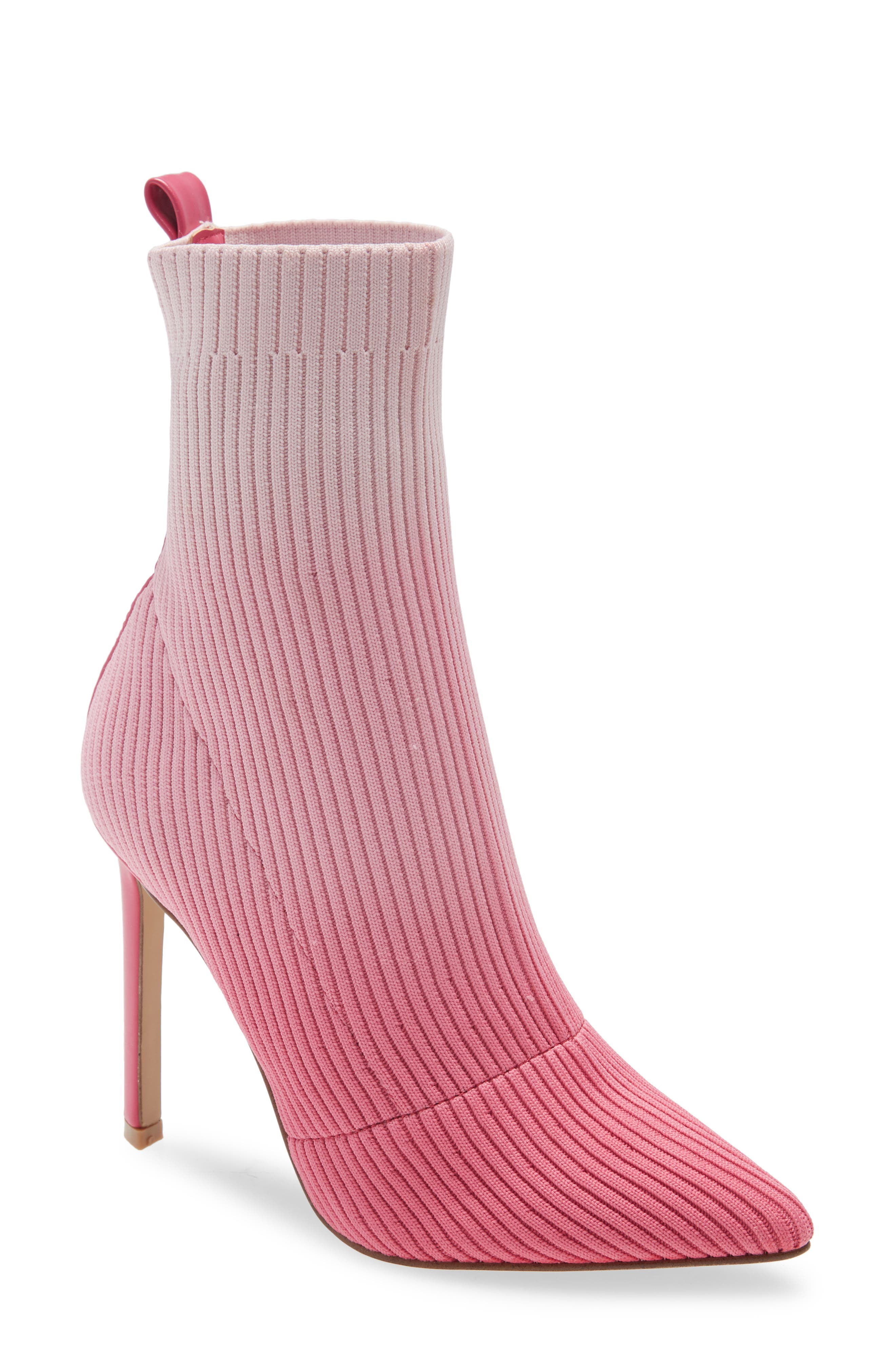 Women's Pink Booties \u0026 Ankle Boots