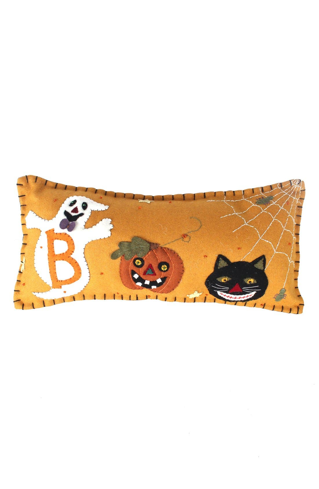 New World Arts Boo Accent Pillow