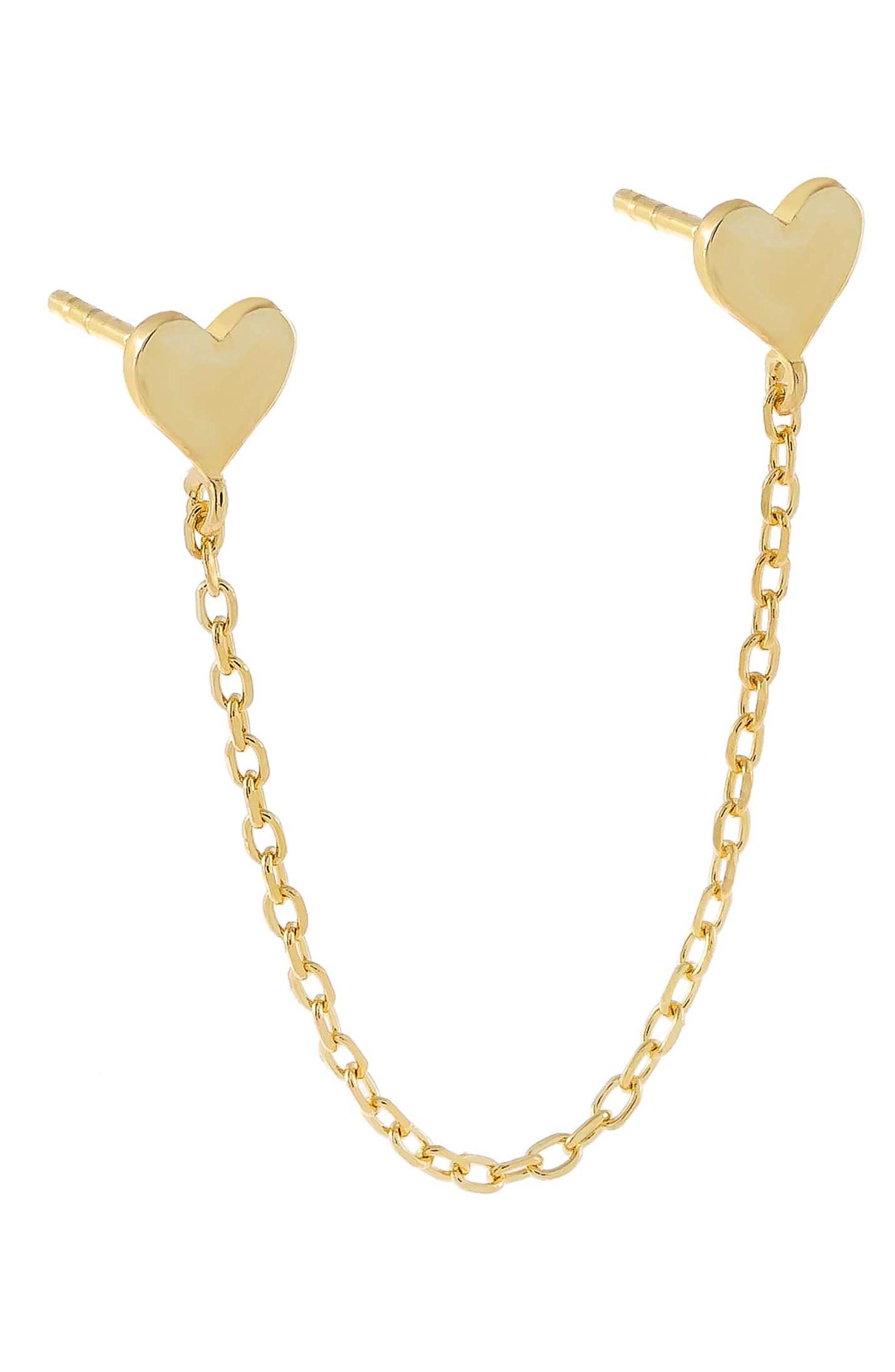 Cuffs Tassel Earring Butterfly Ear Cuff Draping Chain Stud Earrings for Women Girls Gifts