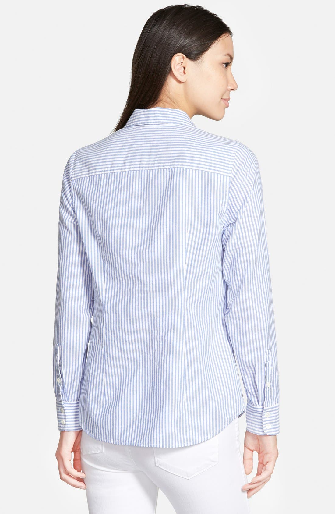 Alternate Image 2  - Vineyard Vines Oxford Stripe Shirt