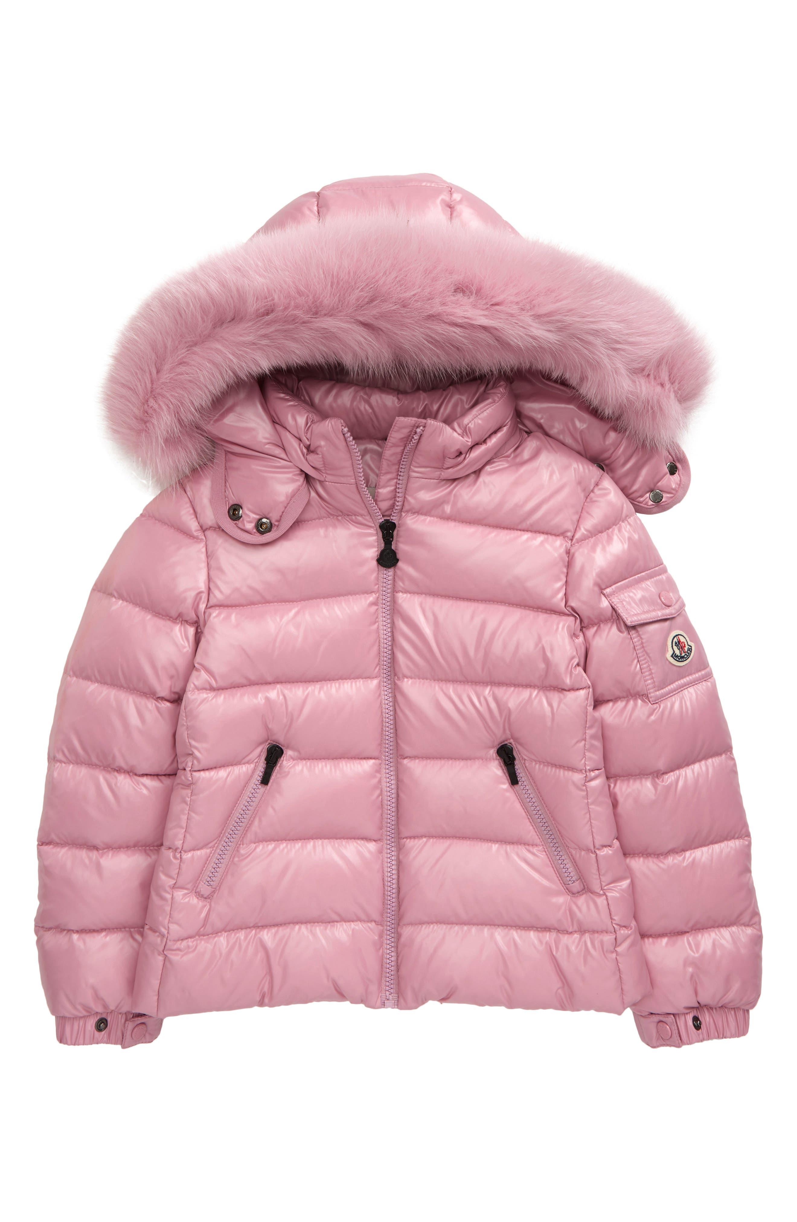 FTCayanz Girls Winter Parka Coat Winter Down Jackets Kids Faux Fur Hooded Long Coats