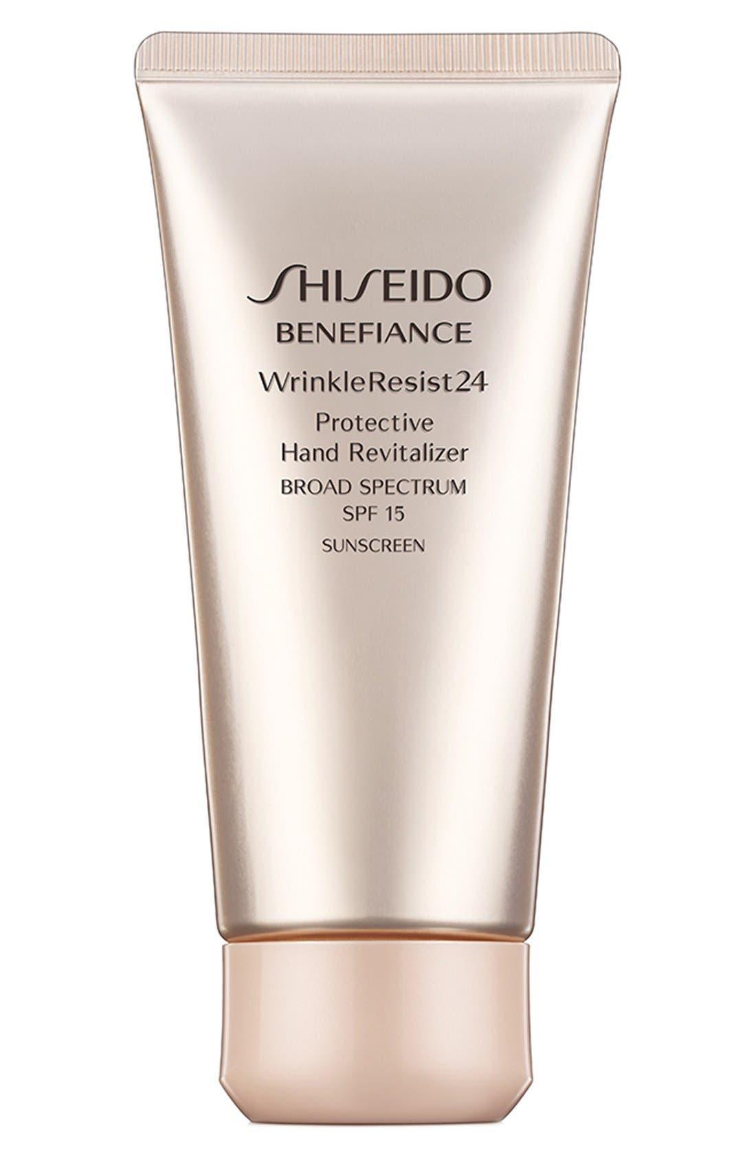 Shiseido 'Benefiance WrinkleResist24' Protective Hand Revitalizer SPF 15