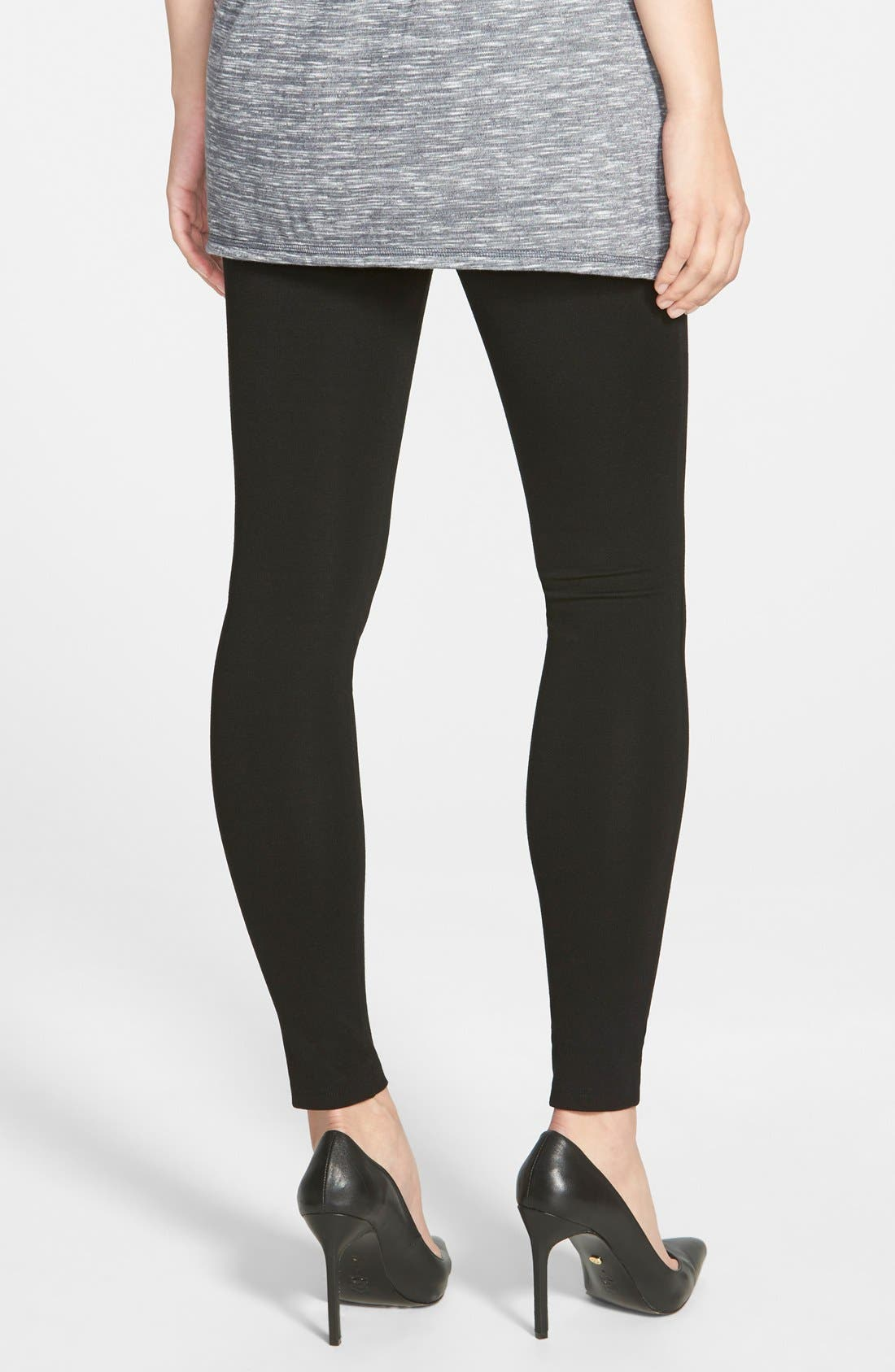 Blackout Leggings,                             Alternate thumbnail 2, color,                             Black