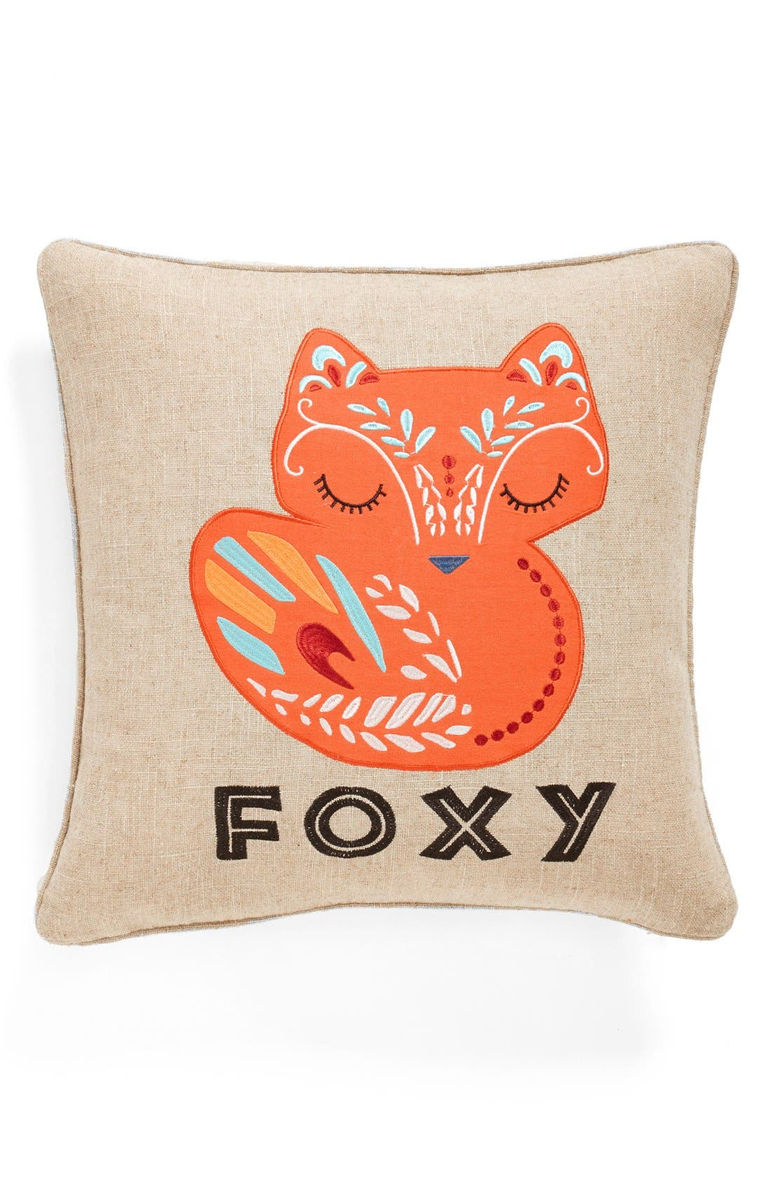 Alternate Image 1 Selected - Levtex 'Foxy' Accent Pillow
