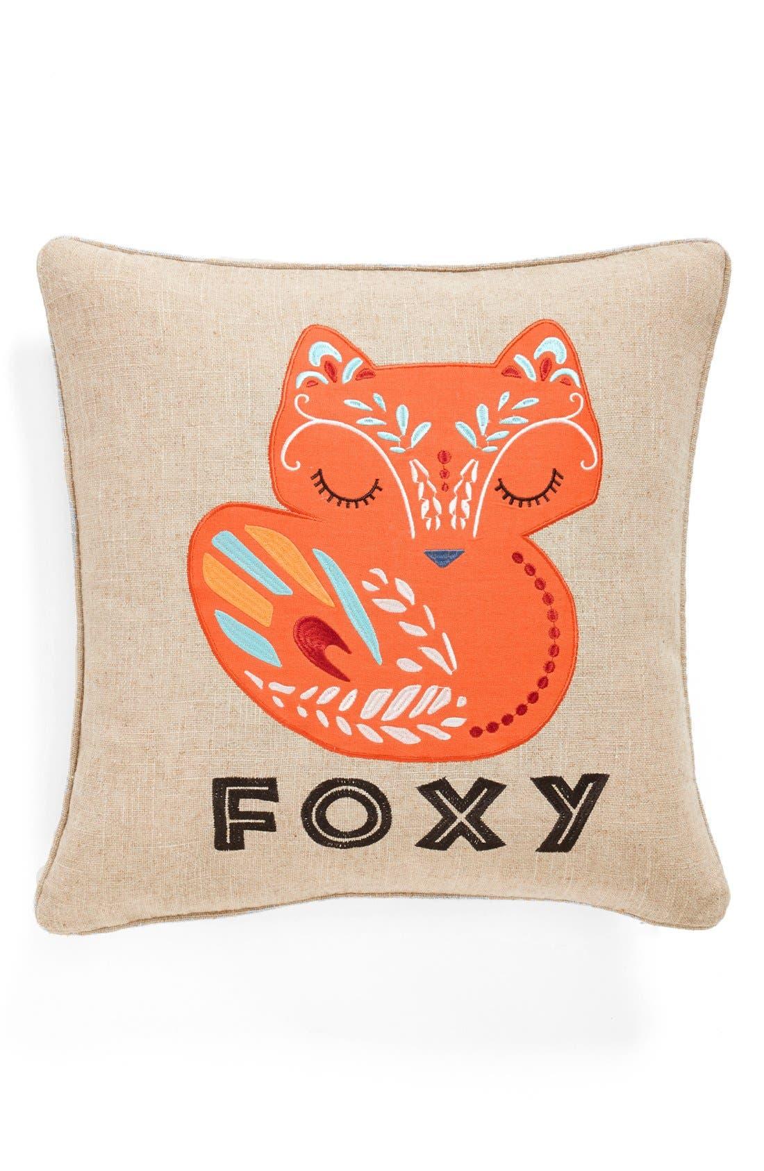 Main Image - Levtex 'Foxy' Accent Pillow