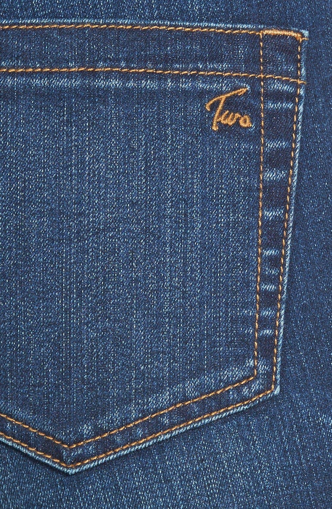 Stretch Boyfriend Jeans,                             Alternate thumbnail 3, color,                             Authentic