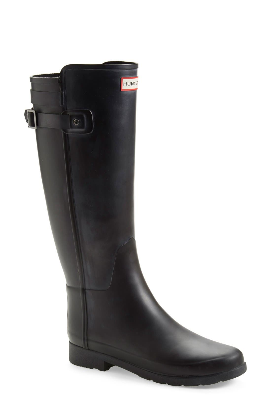 Hunter 'Original Refined' Rain Boot (Women)