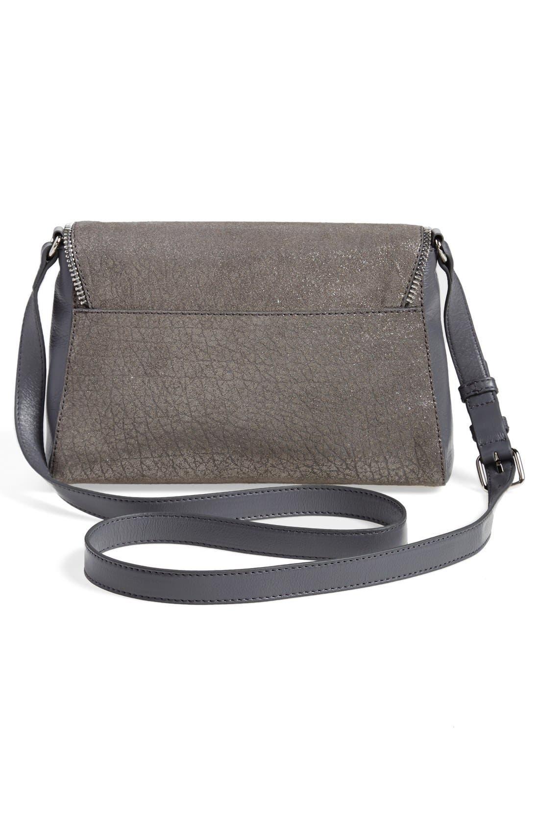 Alternate Image 3  - Halogen® Zip Detail Envelope Crossbody Bag