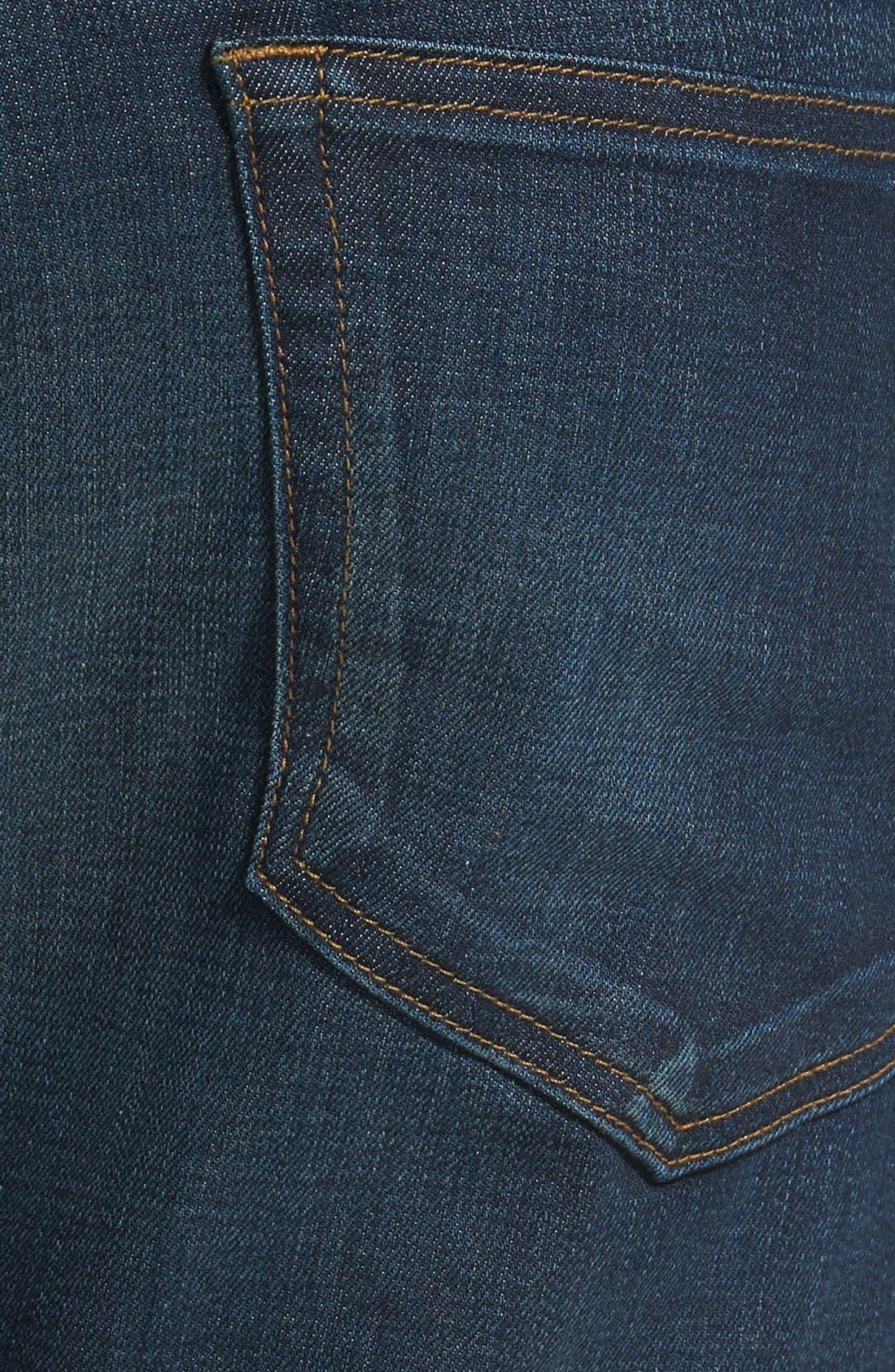 L'Homme Skinny Fit Jeans,                             Alternate thumbnail 4, color,                             Sierra
