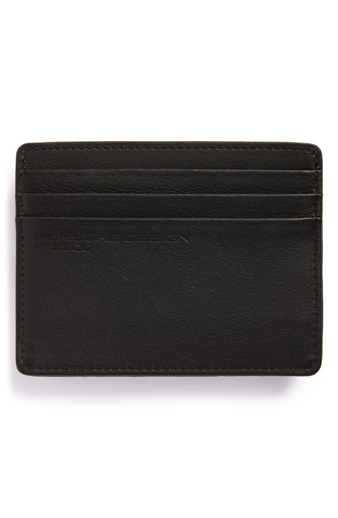 Alternate Image 2  - Porsche Design Leather Cardholder