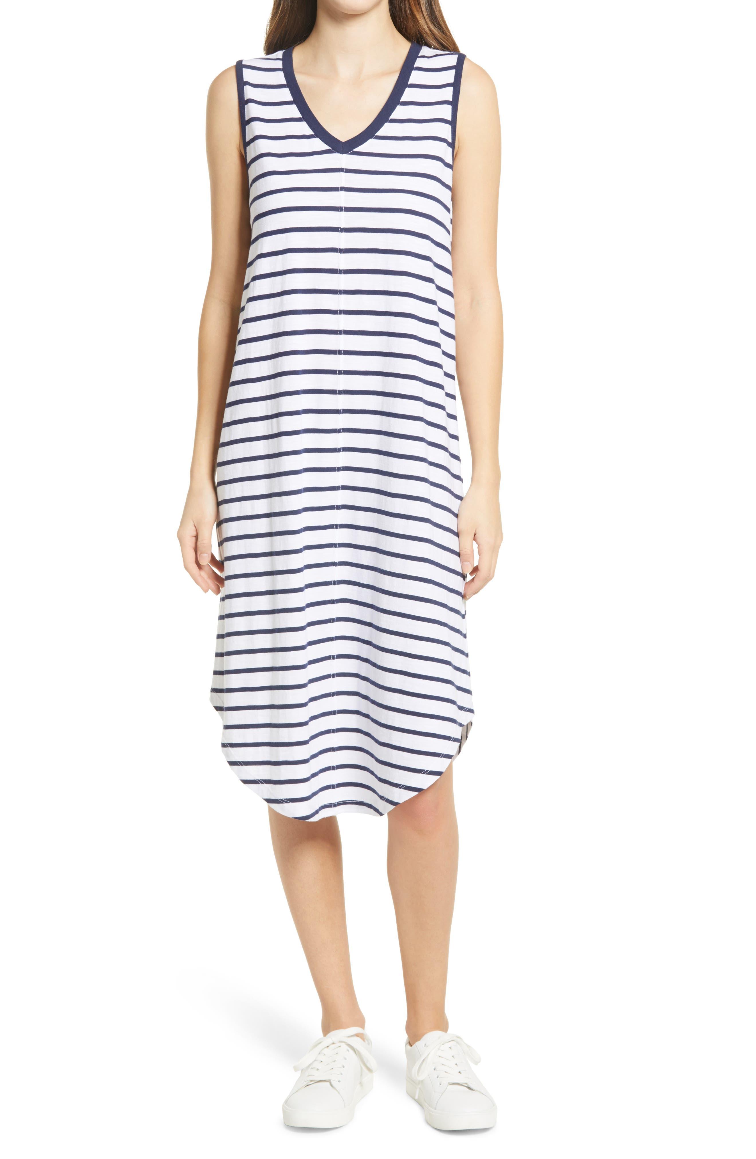 sleeveless tank dress