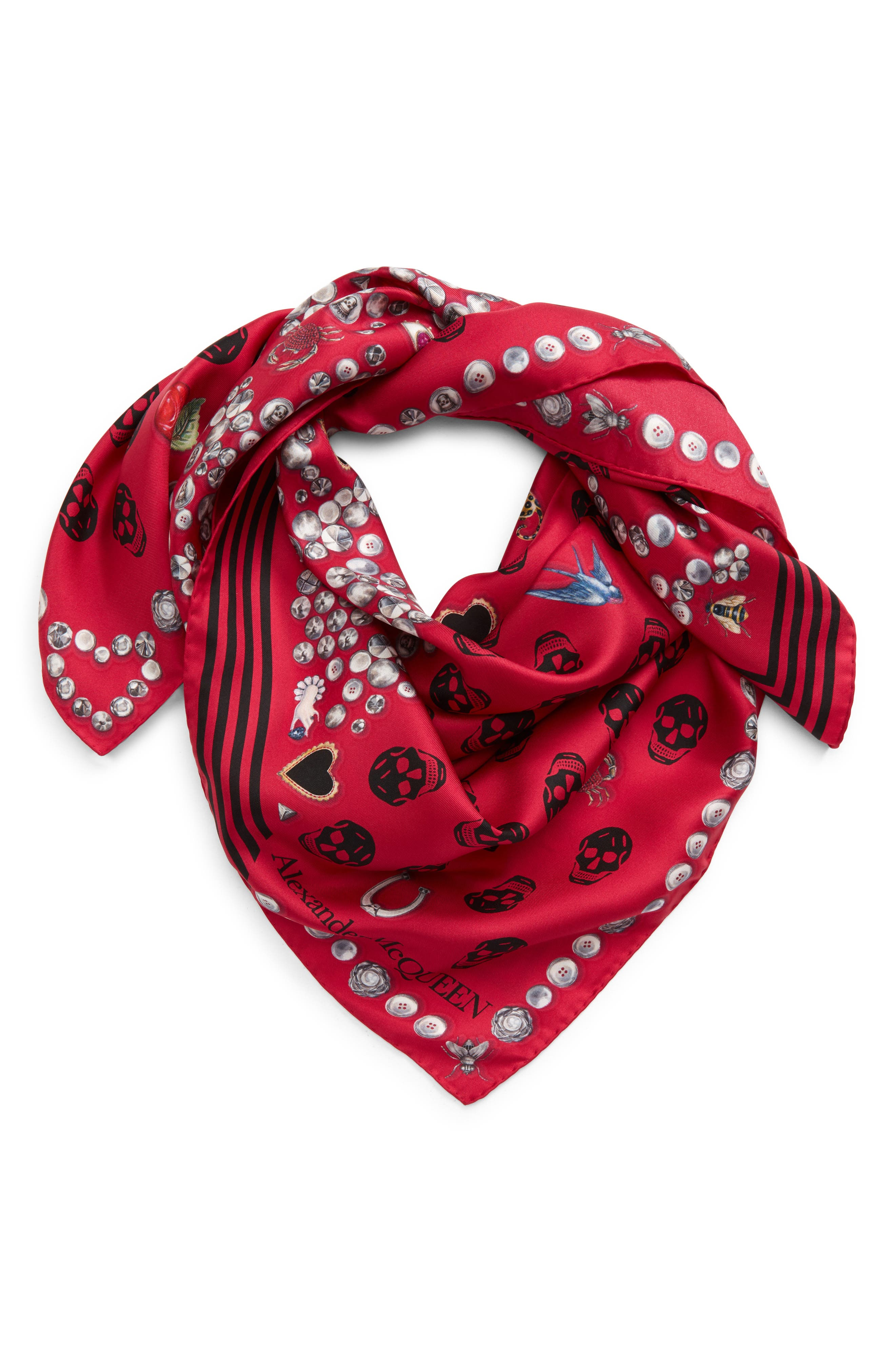 ZOMUSAR Fashion Women Square Head Scarf Wraps Scarves Ladies Printed Kerchief Neck Scarf