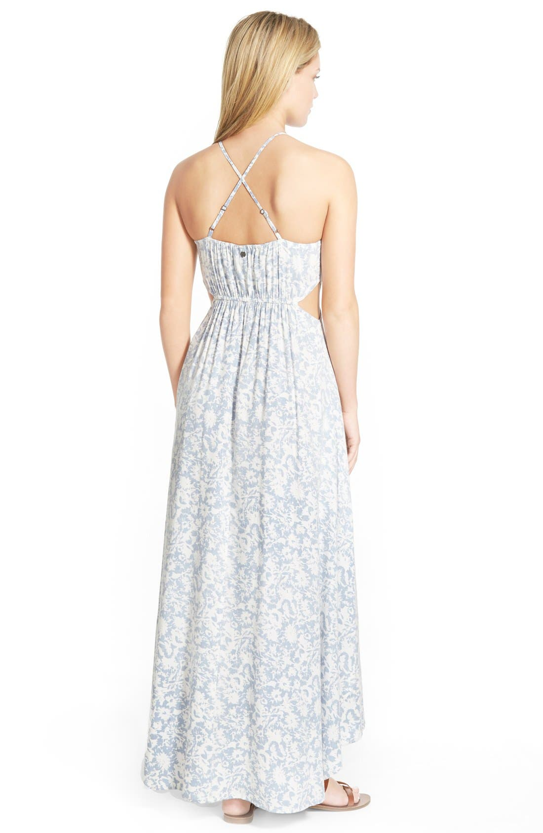 Alternate Image 2  - Billabong 'Sounds of the Sea' Floral Maxi Dress
