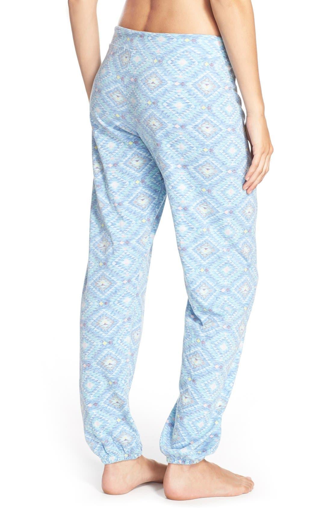 Alternate Image 2  - Honeydew Intimates Slouchy Sweatpants