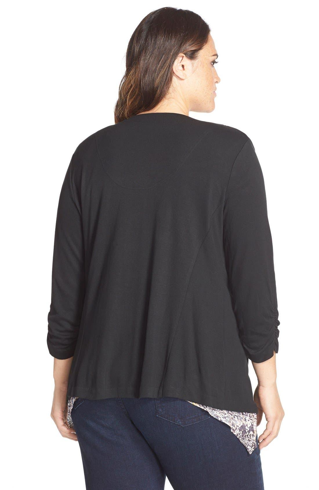Alternate Image 2  - Tart 'Olga' Knit Jacket (Plus Size)