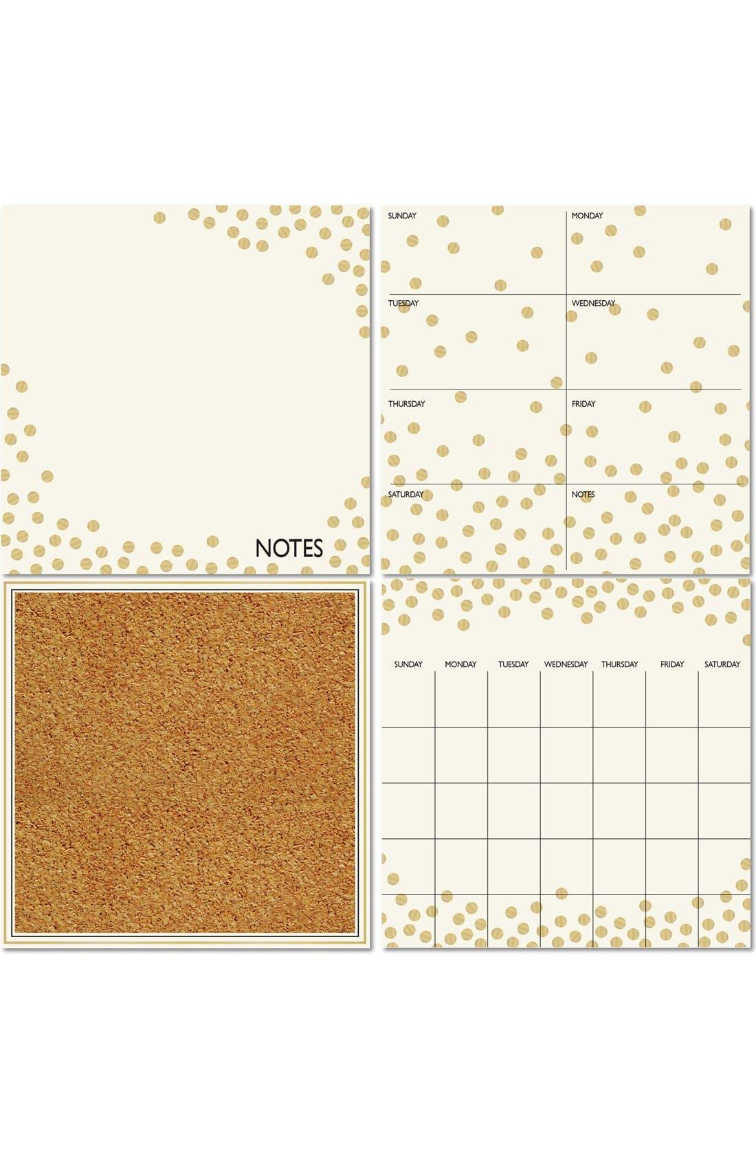 'Confetti' Wall Decal Organization Kit,                         Main,                         color, Gold