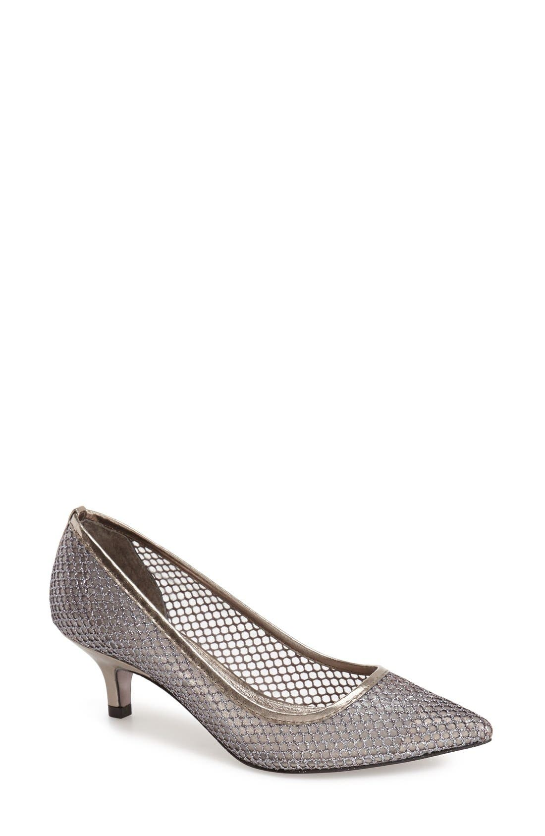 Alternate Image 1 Selected - Adrianna Papell 'Lois' Mesh Pump (Women)