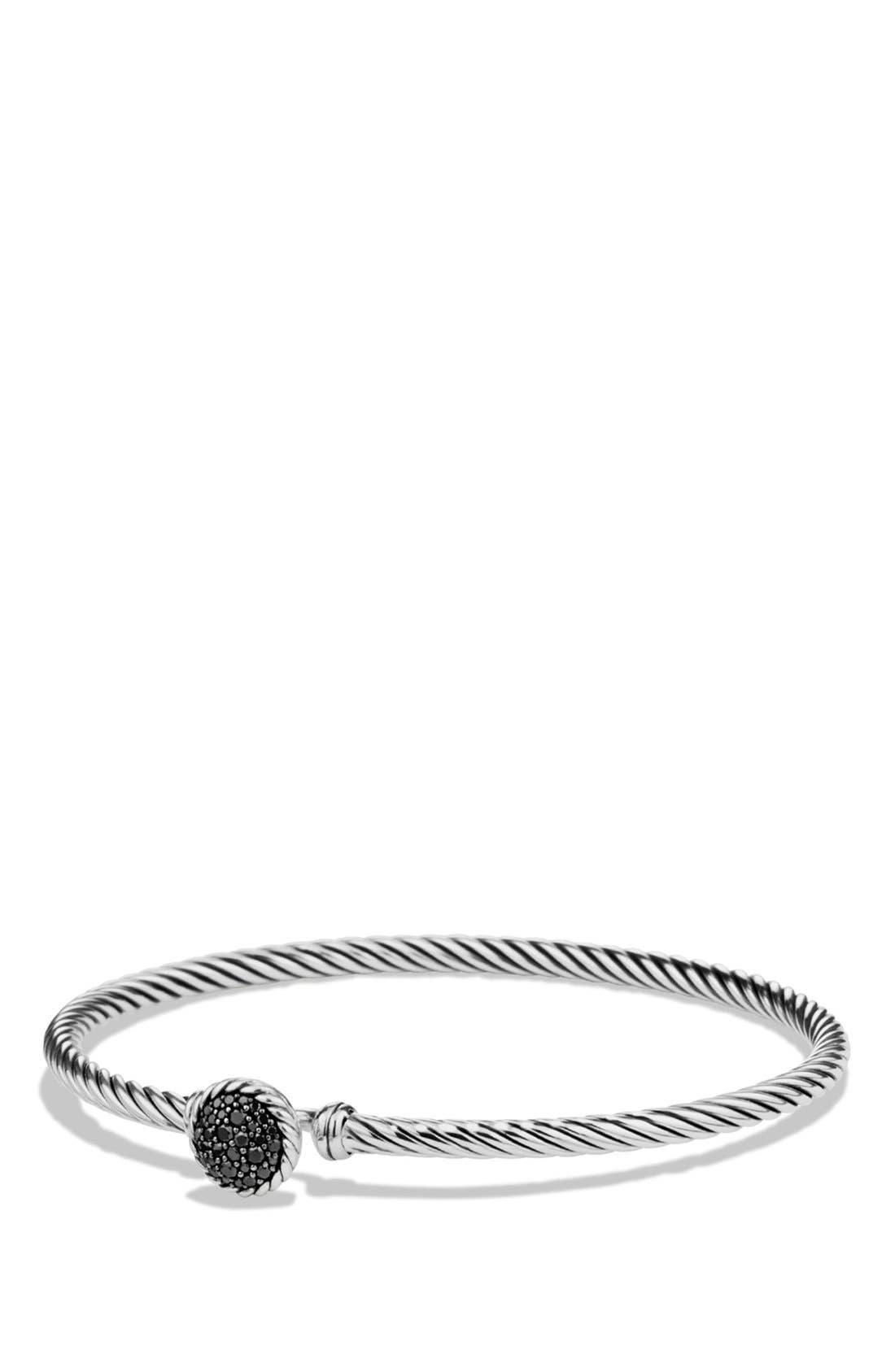 'Châtelaine' Bracelet with Diamonds,                         Main,                         color, Black Diamond