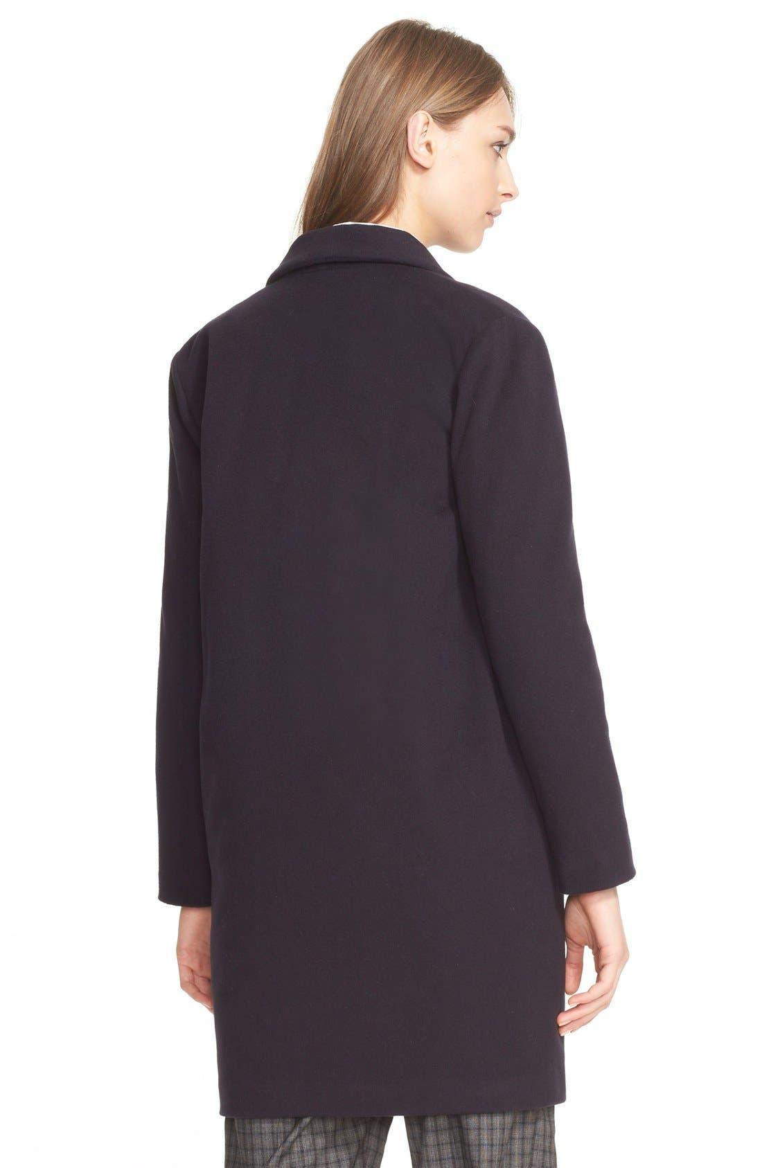 Alternate Image 2  - Eleventy Houndstooth Wool Coat