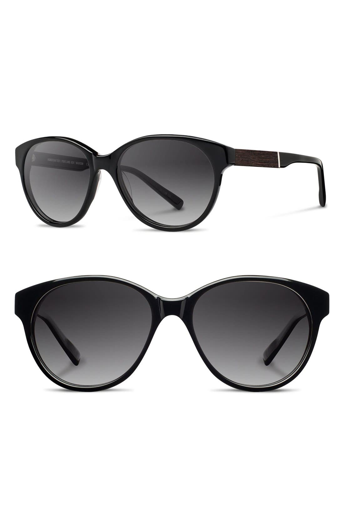 'madison' 54mm Polarized Sunglasses by Shwood